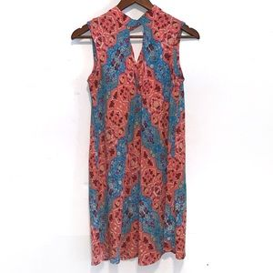 Uncle Frank vibrant colored sleeveless dress